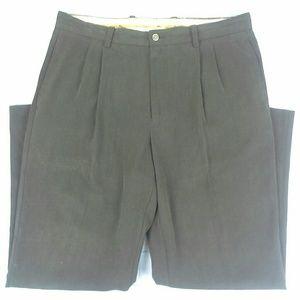 Tommy Bahama  Dress/Casual Pants Size 35 X 30 Silk